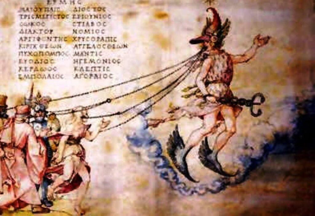 """Альбрехт Дюрер, """"Аллегория красноречия"""", 1514"""